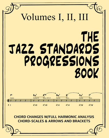 The Jazz Standards Progressions Book – mDecks Music Blog